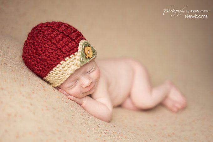 Newborn modified side-laying pose