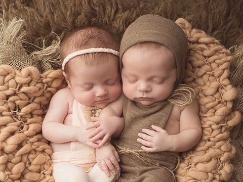 Vivian and Rhett | Newborn Multiples Specialist Photographer