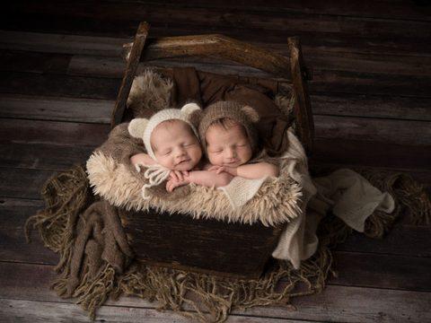 Reid and Gavin | Newborn Multiples Specialist Photographer